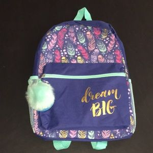 Dream Big Feather Backpack